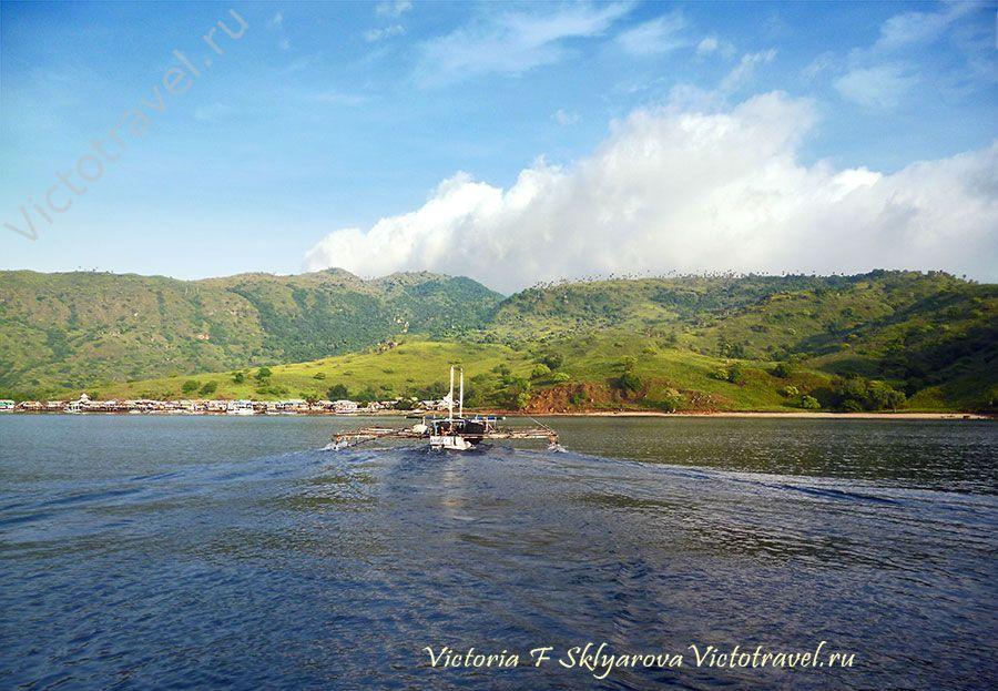 Остров Комодо, Индонезия