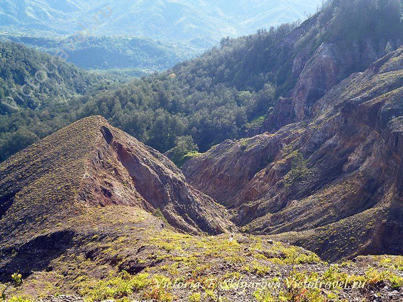 Рассвет на Вулкане Келимуту, Флорес, Индонезия
